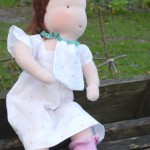 Ma dernière poupée Waldorf pour Noël