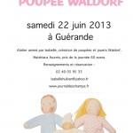 Atelier poupées Waldorf été 2013