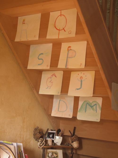 Mes dessins pour l'histoire des lettres