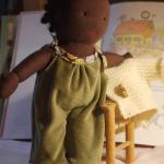 Une poupée Waldorf pour Loraine