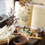 Table de saison d'automne et la saint Michel