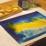 La peinture à la maison avec la pédagogie Waldorf