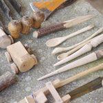 De retour des ateliers laine et bois